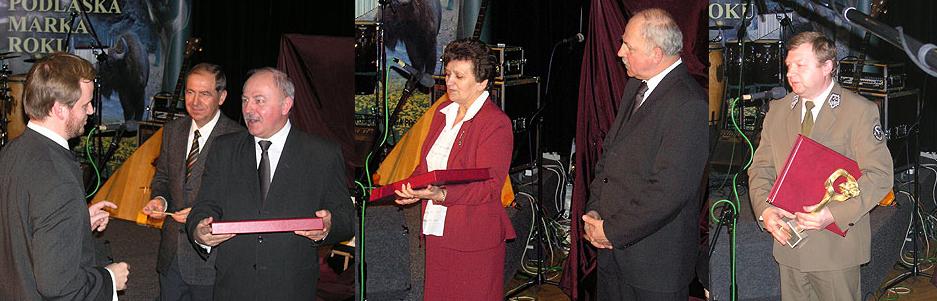Laureaci Podlaskiej Marki Roku 2004