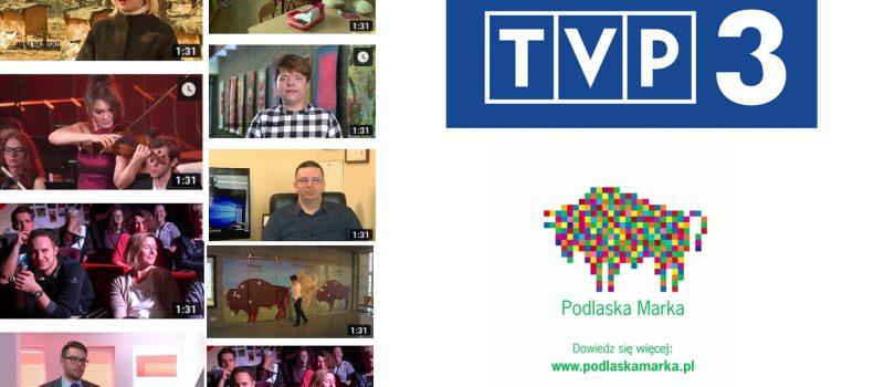 Nominowani do Podlaskiej Marki w TVP 3